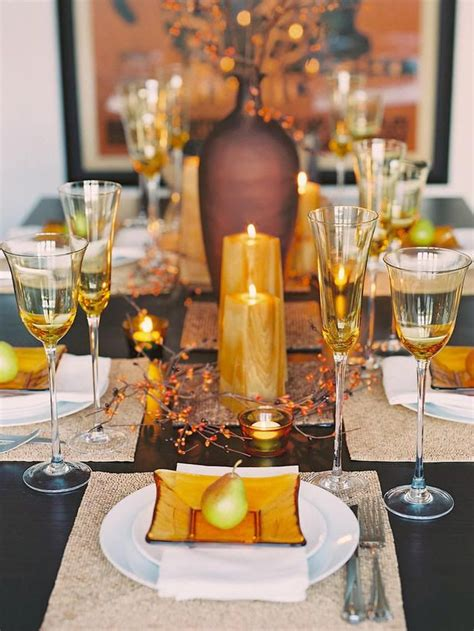 thanksgiving tablescape ideas 60 stylish table settings for thanksgiving tablescape