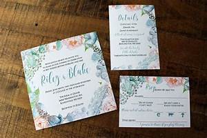 blush pink and dusty blue watercolor floral wedding With dusty blue wedding invitations uk