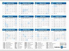 week number calendar 2018 calendar printable free