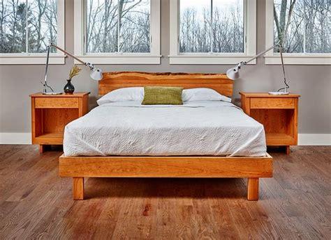 Acadia Live Edge Bed (cherry)