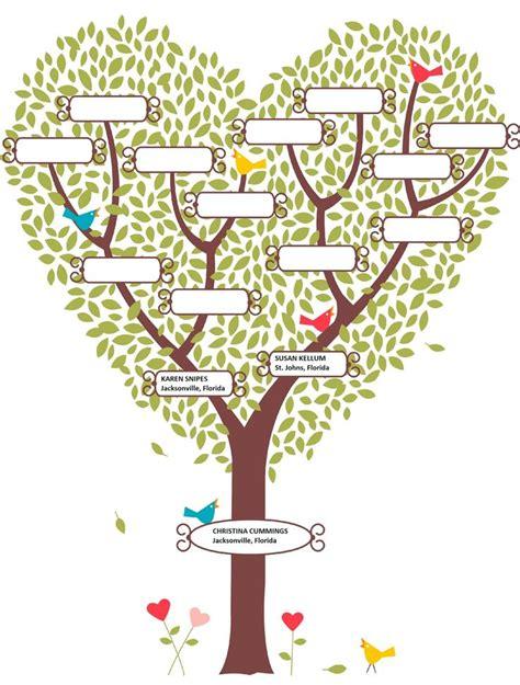 pix  blank family tree blank family tree template