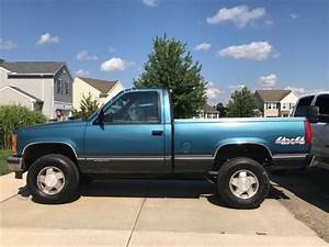 1992 Chevy 4x4 1500 Regular Cab Short Bed    Box For Sale