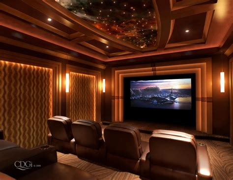Home Theatre : Right In Your Renovated Home