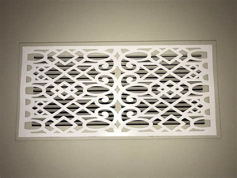 Transform your room's appearance with vent covers that improve air flow only stellar air offers the widest line of decorative wall registers, grilles, and vent covers that are tested to ensure air flow is not compromised. Victorian ReVent Cover - Decorative Vent Covers   Vent ...