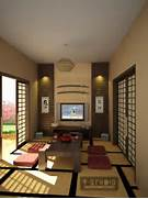 Japanese Living Room b...