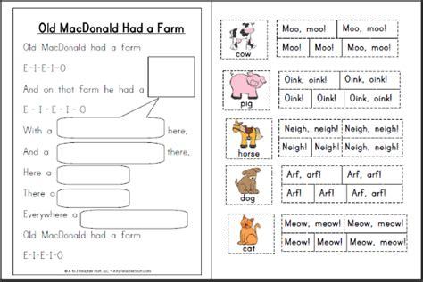 macdonald farm animals clip art cliparts