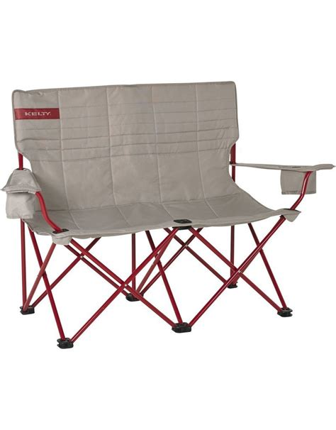 Kelty Loveseat Cing Chair by Kelty Chair Low Loveseat Adjustable Quilt Smoke Paradise