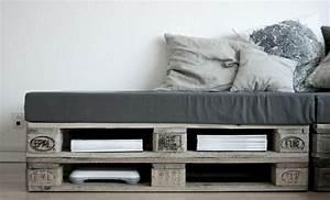 Graues Sofa Kombinieren : wir stellen ihnen das sofa aus paletten vor ~ Michelbontemps.com Haus und Dekorationen
