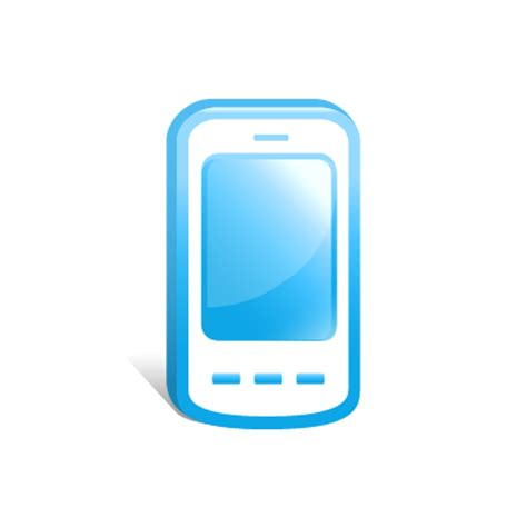 blue mobile phone 15 blue mobile icon png images cell phone icon blue