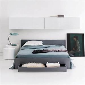 Sommier Lit 2 Places : lit 2 places avec sommier et tiroir crawley bedroom closet closet bedroom cosy bedroom ~ Melissatoandfro.com Idées de Décoration