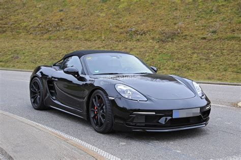 porsche spyder 911 2019 porsche 718 boxster spyder makes spyshot debut with
