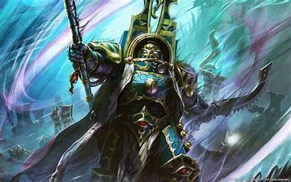 Thousand Sons 40k Warhammer Sorcerer Artwork Chaos
