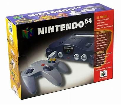 Nintendo Grey Charcoal Basenhet N64 Pelikonsoli Retroplay