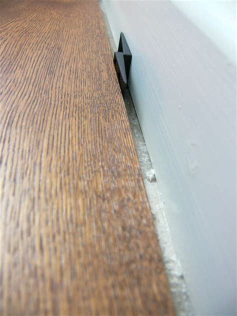 Laminate Floor Spacers Size by Problems With Hardwood Flooring No Expansion Gap The Woo