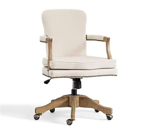 traditional desk chairs swivel chair crate and barrel