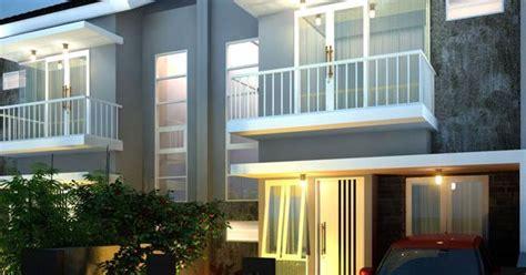desain rumah  lantai  konsep minimalis  memiliki