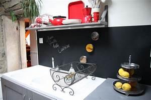 Tableau Pour Cuisine : un tableau noir dans ma cuisine debobrico ~ Teatrodelosmanantiales.com Idées de Décoration
