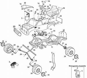Power Wheels Ford Flashback 4x4 Parts