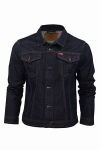 Mens Denim Jacket Coat Lee Cooper Premium Range u0026#39;Berdenu0026#39;   eBay