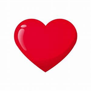 red heart shaped icon – Free Icons Download