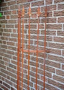 Rankgitter Metall Rost : rankgitter metall halbrund f wand 180cm rost ~ Watch28wear.com Haus und Dekorationen