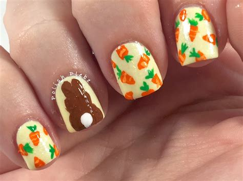 easter nail designs the plebe carroticure nail easter and