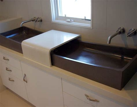 concrete countertop and sink 17 best images about concrete countertops on