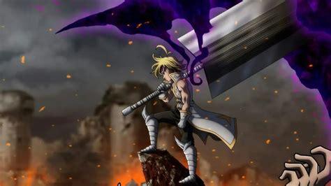 meliodas demon form fight  nanatsu  taizai