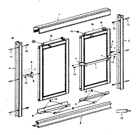 Shower Door Frame Parts - shower doors parts kohler shower doors installing