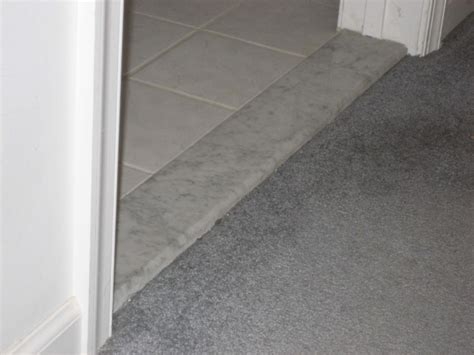 Marble Shower Threshold by Seamless Groutless Marble Door Thresholds Stonexchange