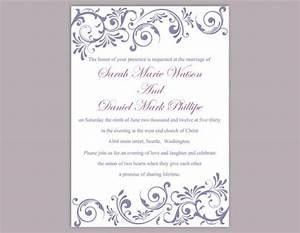 diy wedding invitation template editable text word file With diy wedding invitations on word