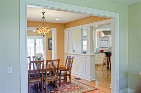 kitchen addition  colonial revival home traditional