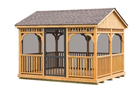 gres  wooden shed