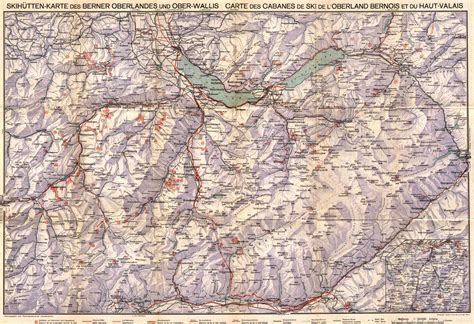 map view skihuetten karte des berner oberlandes und ober