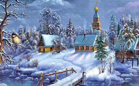 Free Animated Christmas Wallpaper Backgrounds