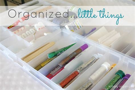 Pretty Little Things Compartment Organizers Simply