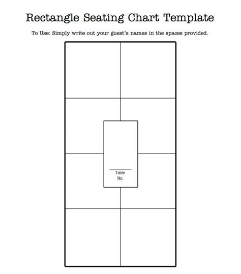 Wedding Seating Chart Template Seating Chart Template Beepmunk