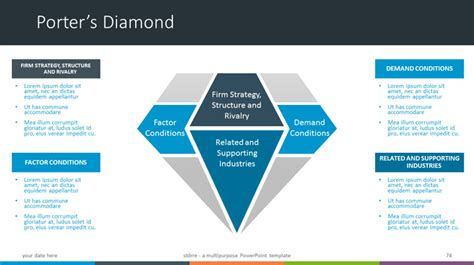 porter s diamond free template st 246 rre multipurpose powerpoint template porter s