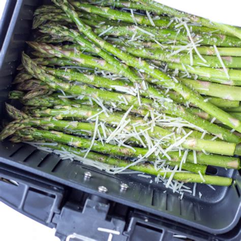 asparagus parmesan garlic fryer air recipe