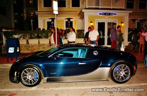 Bugatti Veyron Spotted In Miami, Florida On 02/17/2013