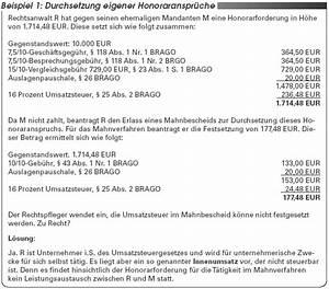 Abrechnung Rechtsanwalt : richtige anwendung der brago die problematik der ~ Themetempest.com Abrechnung