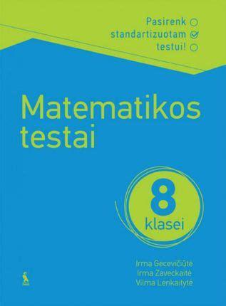 Matematikos testai 8 klasei   Knygos.lt