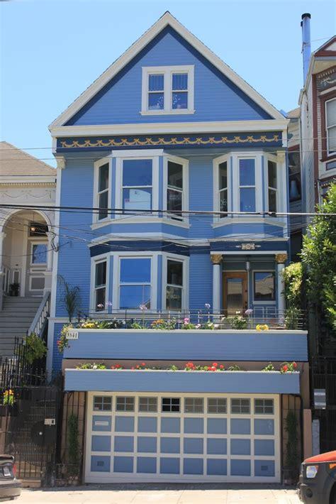 san francisco et la maison bleue