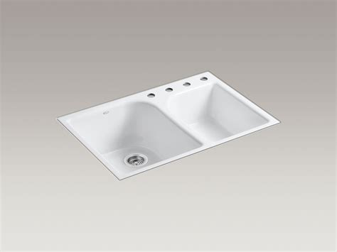 Kohler Executive Chef Sink Stainless Steel by Standard Plumbing Supply Product Kohler K 5931 4 0