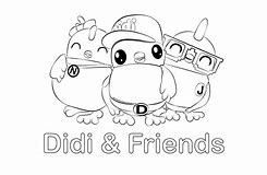 HD Wallpapers Coloring Pages Upin Ipin