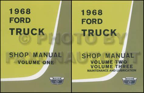 Ford Pickup Truck Wiring Diagram Manual Reprint