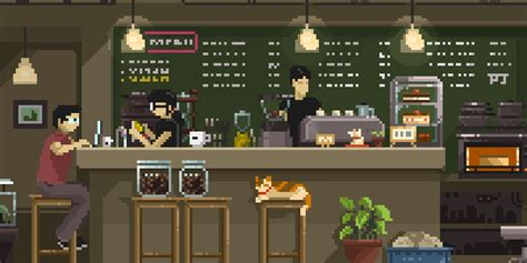 artstation coffee break pixel jeff