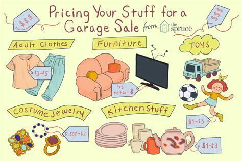 How To Price For A Garage Sale by The Do S And Don Ts Of Garage Sale Pricing