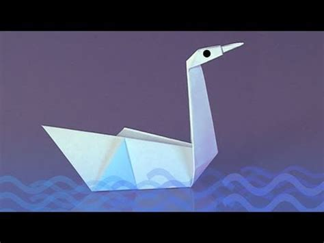 Origami Boat Jo Nakashima by Un Cygne En Papier Comment Faire Origami