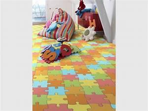 Lit Enfant Sol : chambres d 39 enfants la dynamique par le sol ~ Nature-et-papiers.com Idées de Décoration